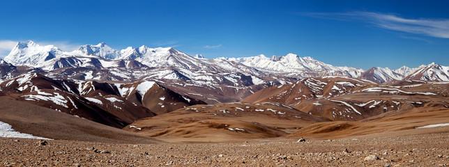 Himalaya Mountain landscape in Ngari Prefecture, Tibet