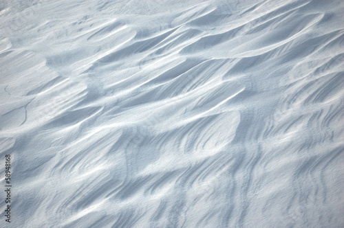 close up of white snow background