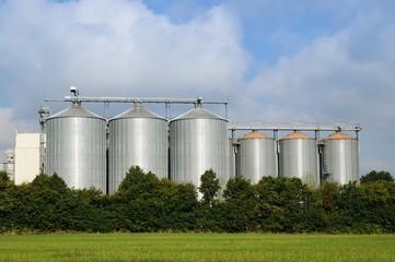 Hochsilo für Getreidelagerung