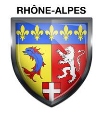 Blason Rhône-Alpes Region
