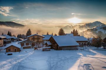village de montagne-Savoie
