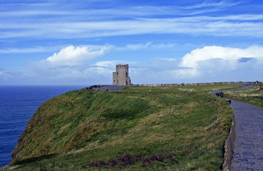view of o'brien's tower - ireland