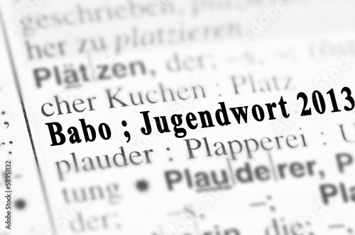 Babo Jugendwort 2013