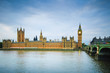 Big Ben, Houses of Parliament, Thames river. London, UK