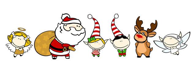 Funny kids #76 - Christmas characters