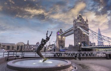 London Bridge and London's skyline