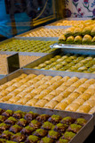 trays of baklava.