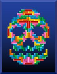 tetris skull