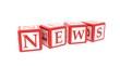 cube news 3D