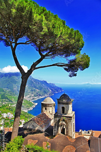 beautiful Amalfi coast, Ravelo village. Italy - 58954592
