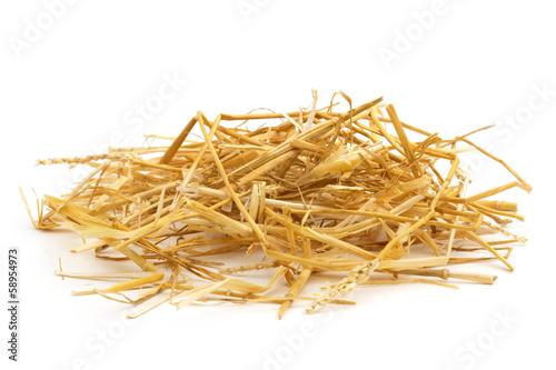 Leinwandbild Motiv heap of  straw