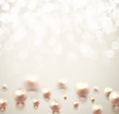 Background with pearls