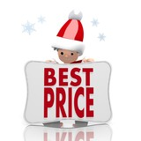 mini santa claus presents best price symbol