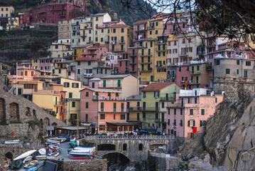 Manarola: village of Cinque Terre  Italy