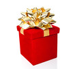 Gift Box for All Occasions Isolated on White