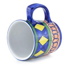 ceramic painted mug