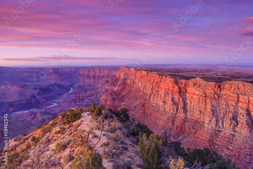 Keuken foto achterwand Canyon Grand Canyon