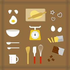 お菓子作りの道具 / Cooking tools