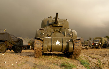 world war two sherman tank
