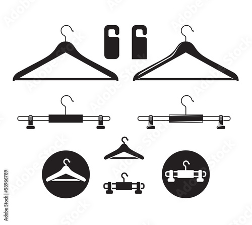 Hanger icon. Vector format