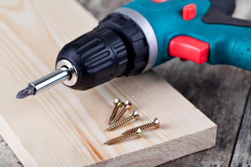 screwdriver and screw
