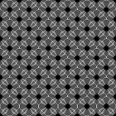 Design seamless monochrome diamond background