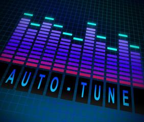 Auto-tune concept.
