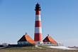 canvas print picture - Leuchtturm Westerhever