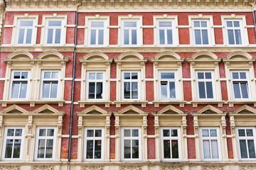 ALte Wohnhäuser in Altona, Hamburg