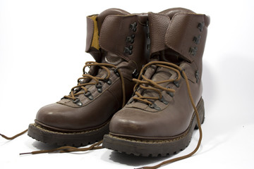 Old Military Boots