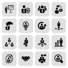 flat business iconset