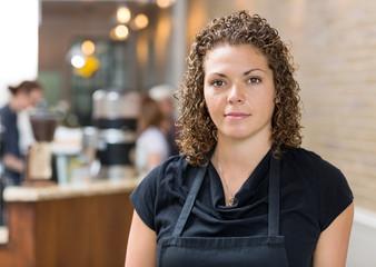 Beautiful Owner At Espresso Bar