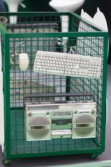 computer hardware recycling bin
