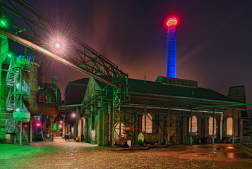 Landschaftspark Duisburg Nacht