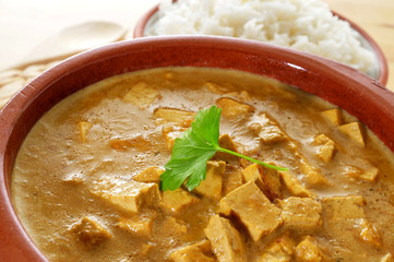 coconut and tofu curry