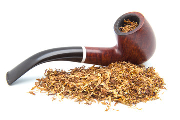 pipa con tabaco