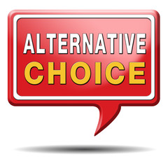alternative choice