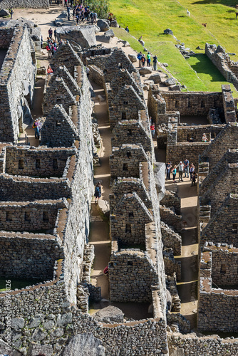 Palace of the princess Machu Picchu ruins peruvian Andes  Cuzco