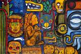 Graffiti in a wall in Mexico City