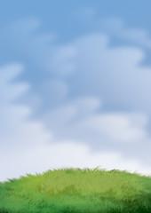 fondo con nubes