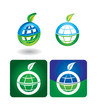 Vector icon set - globe
