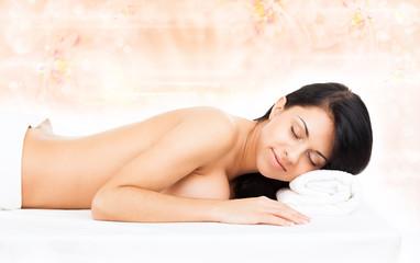 woman massage