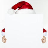 Voucher for christmas with Santa Claus
