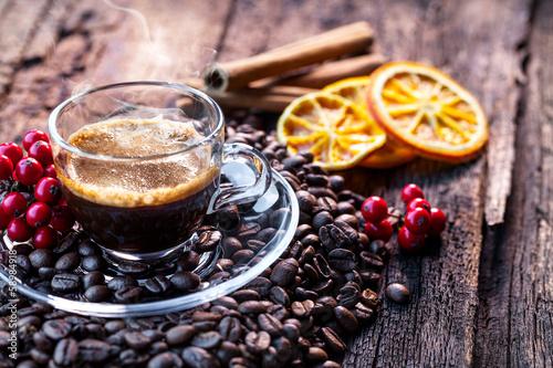 Foto op Plexiglas Cafe caffè espresso