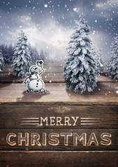 Merry Christmas Scenic