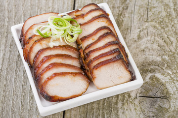 Char Siu Pork - Chinese roasted pork loin.