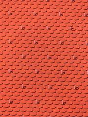 Frisch renoviertes Dach