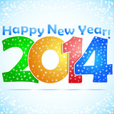 Happy New Year 2014 Background