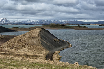 myvatn lake in iceland