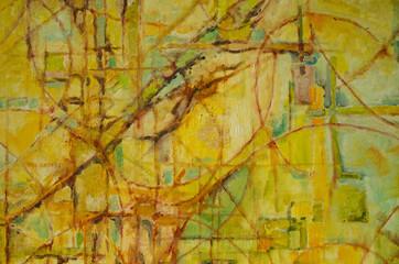 tableau abstrait